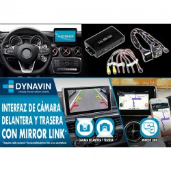 INTERFACE-DYNAVIN-MERCEDES-NTG5-CAMARA_-HDMI-MIRROR-LINK