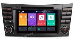 Radio-ANDROID-XTRONS-MB-CLASSE-E-W211---CLS-W219_-GPS_-Bluetooth_-MP3_-etc