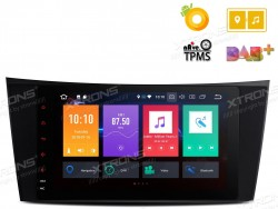 Radio-ANDROID-8POL-XTRONS-MB-CLASSE-E-W211---CLS-W219_-GPS_-Bluetooth_-MP3_-etc