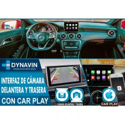 MERCEDES-NTG-5-0-5-1--INTERFACE-DYNALINK-CAR-PLAY_-CAMARA-TRASERA_-CAMARA-DELANTERA
